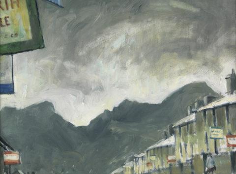 Mae'n stryd ni ar werth ! / Our street's for sale ! gan Gareth Parry, ca.2000