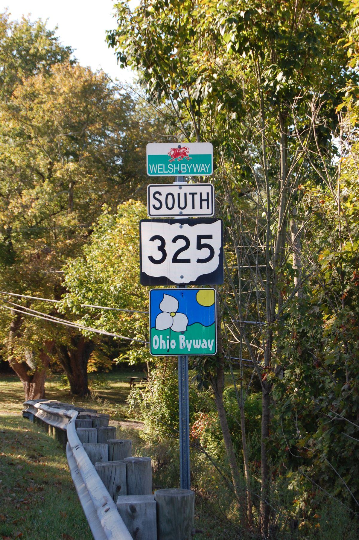 Welsh Byway de ddwyrain Ohio / Welsh Byway southeast Ohio