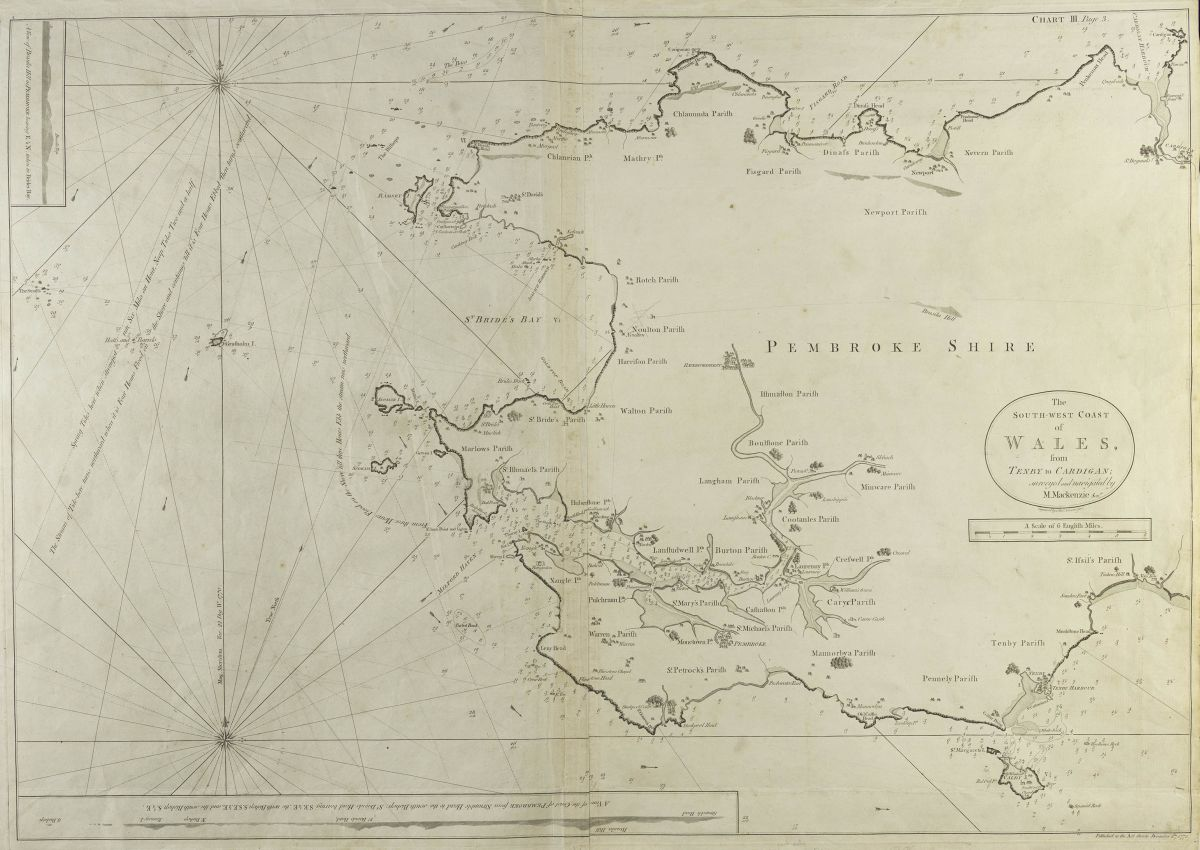 From the Library's marine chart collection
